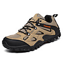 cheap Men's Athletic Shoes-Men's Comfort Shoes Leather / PU(Polyurethane) Fall Sporty Athletic Shoes Hiking Shoes Non-slipping Color Block Black / Green / Khaki