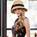 abordables Disfraces de Anime-Fibra Natural Sombrero Derby De Kentucky / Sombreros con Pajarita / Tirantes Trenza 1pc Casual / Ropa Cotidiana Celada