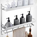 halpa Kylpyhuonehyllyt-Kylpyhuonehylly Uusi malli / Tyylikäs Moderni Alumiini 1kpl Seinäasennus