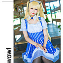 abordables Disfraces de Anime-Inspirado por Saekano: Cómo criar a una novia aburrida Eriri Animé Disfraces de cosplay Trajes Cosplay Rayas Faldas / Cuello / Calcetines Para Mujer Disfraces de Halloween