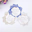 cheap Wedding Invitations-Flat Card Wedding Invitations 10pcs - Invitation Cards Artistic Style Embossed Paper Glitter