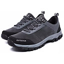 cheap Men's Athletic Shoes-Men's Comfort Shoes PU(Polyurethane) Fall Sporty Athletic Shoes Hiking Shoes Wear Proof Black / Gray