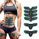 cheap Fitness Gear & Accessories-Abs Stimulator Abdominal Toning Belt EMS Abs Trainer Silicone ABS Electronic Muscle Toner Wireless Weight Loss Ultimate Training Fitness Gym Workout Bodybuilding For Men Women Abdomen Home Office