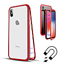 cheap Cell Phone Cases & Screen Protectors-Case For Apple iPhone XR / iPhone XS Max Translucent Full Body Cases Solid Colored Hard Tempered Glass for iPhone XS / iPhone XR / iPhone XS Max