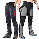 cheap Hiking Trousers & Shorts-Men's Hiking Pants Outdoor Waterproof UV Resistant Quick Dry Spandex Pants / Trousers Fishing Hiking Dark Blue Grey XXL XXXL 4XL / High Elasticity / Anatomic Design / Anatomic Design