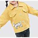 tanie Zestawy ubrań dla dziewczynek-Dzieci / Brzdąc Dla dziewczynek Solidne kolory Długi rękaw Garnitur / marynarka