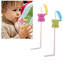 cheap Drinkware Accessories-Water Bottle Straw Children Adults Portable Spill Proof Soda Water Bottle Cover Cap straw Drinking Straws For Girls boys
