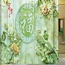 preiswerte Duschvorhänge-Duschvorhänge Modern Polyester Maschinell gefertigt Neues Design / Cool Bad