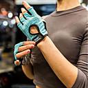billige Sportsstøtter-Treningshansker / Treningshansker til boksing til Trening & Fitness / Utendørs Trening / Multisport Vand resistent / Klistret Nylon Fiber Grå / Himmelblå / Rosa