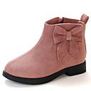 ieftine Pantofi Fetițe-Fete Pantofi Piele de Căprioară Toamna iarna Ghete Cizme Plimbare Lanț pentru Copii Roz / Roșu Vin / Kaki / Cizme / Cizme la Gleznă
