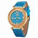 abordables Relojes de Moda-Mujer Reloj de Vestir Reloj de Pulsera Cuarzo Flotante Diamante sintético Negro / Blanco / Azul Nuevo diseño Reloj Casual La imitación de diamante Analógico damas Casual Moda - Azul Rosa Azul Claro