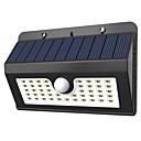 billige Flomlys-YouOKLight 1pc 1 W Solar Wall Light Solar Kjølig hvit 3.7 V Utendørsbelysning 45 LED perler