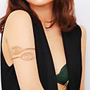 hesapli Ayak bileziği-Kadın's Vücut Mücevheri 10 cm Kol Zinciri Altın / Gümüş Bayan / Bohem / Tropik Demir Kostüm takısı Uyumluluk Kulüp / Bikini Yaz