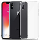billige Mobilcovers & Skærmbeskyttelse-Etui Til Apple iPhone XR / iPhone XS Max Transparent Bagcover Ensfarvet Blødt TPU for iPhone XS / iPhone XR / iPhone XS Max