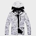 baratos Jaquetas Softshell, de Lã ou de Trilha-Unisexo Jaqueta de Esqui A Prova de Vento, Prova-de-Água, Térmico / Quente Esqui / Esportes de Inverno / Exterior Jaqueta de Inverno Roupa de Esqui