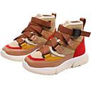 ieftine Pantofi Băieți-Băieți / Fete Pantofi PU Primăvara & toamnă / Primăvară Confortabili Adidași de Atletism Alergare / Plimbare Dantelă / Combinată pentru Copii / Adolescent Negru / Bej / Kaki / Bloc Culoare