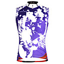 cheap Cycling Jerseys-ILPALADINO Men's Sleeveless Cycling Jersey Violet Bike Vest / Gilet Jersey Tank Top Quick Dry Sports Eco-friendly Polyester 100% Polyester Mountain Bike MTB Road Bike Cycling Clothing Apparel