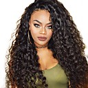 cheap Human Hair Wigs-Human Hair Lace Front Wig Brazilian Hair Burmese Hair Water Wave Wig 130% Hair Density Women Easy dressing Best Quality Natural Women's Long Human Hair Lace Wig