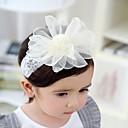 baratos Infantil Tiaras-Bébé Para Meninas Activo Floral Acessórios de Cabelo Branco Tamanho Único