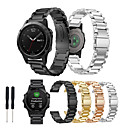 preiswerte Smart Uhr Accessoires-Uhrenarmband für Fenix 5 Garmin Klassische Schnalle Metall / Edelstahl Handschlaufe