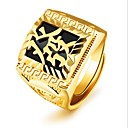 cheap Men's Rings-Men's Retro Midi Ring - 18K Gold Fashion Adjustable Gold For Party Daily