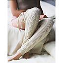 Χαμηλού Κόστους Στολές Καριέρα-Γυναικεία Κάλτσες Μέχρι το Γόνατο - Μονόχρωμο Μεσαίο
