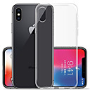 abordables Fundas para Teléfono & Protectores de Pantalla-Funda Para Apple iPhone XR / iPhone XS Max Transparente Funda Trasera Un Color Suave TPU para iPhone XS / iPhone XR / iPhone XS Max