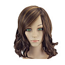 cheap Synthetic Capless Wigs-Synthetic Wig Wavy Brown Bob Copper Brown Synthetic Hair 14 inch Women's Normal / Soft / Heat Resistant Brown Wig Medium Length Capless hairjoy