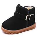 cheap Boys' Shoes-Boys' / Girls' Shoes PU(Polyurethane) Spring & Summer Comfort / Snow Boots Boots Walking Shoes Buckle / Split Joint for Kids Black / Red / Light Brown / Booties / Ankle Boots