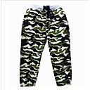 ieftine Pantaloni Băieți-Copii Băieți De Bază Peteci Bumbac / Poliester Pantaloni Verde Militar 150