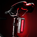 cheap Bike Lights & Reflectors-Rear Bike Light LED Bike Light Cycling Waterproof, Portable, Quick Release Rechargeable Li-Ion Battery 50 lm Red Cycling / Bike