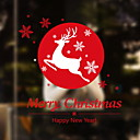 cheap Window Film & Stickers-Window Film & Stickers Decoration Christmas Print / Holiday PVC(PolyVinyl Chloride) New Design / Cool / Shop / Cafe