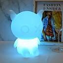 ieftine Obiecte decorative-1 buc LED-uri de lumină de noapte USD Controlat de la distanță / Model nou / Schimbare - Culoare <=36 V