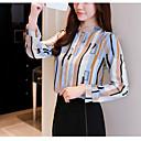 billige Taklamper-Bluse Dame - Geometrisk, Lapper / Trykt mønster Grunnleggende