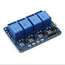 billige Koblinger & Terminaler-4-kanal dc 5v relæmodul til arduino hindbær pi dsp avr pic arm