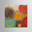 cheap Framed Oil Paintings-Oil Painting Hand Painted - Abstract Modern Stretched Canvas
