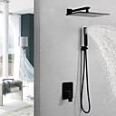Χαμηλού Κόστους Βρύσες Ντουζιέρας-Βρύση Ντουζιέρας / Μπάνιο βρύση νεροχύτη - Σύγχρονο Ζωγραφιά Επιτοίχιες Βαλβίδα Ορείχαλκου