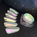 billige Nail Glitter-1 pcs Klassisk / Bedste kvalitet Glitter Glitter Til Fingernegl Romantisk Serie Klassisk Tema Negle kunst Manicure Pedicure Fest / aften / Daglig / Maskerade Luksus / Aristokratisk Lolita