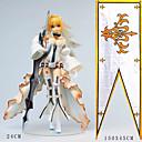 preiswerte Anime-Kostüme-Anime Action-Figuren Inspiriert von Fate / zero Saber PVC 24 cm CM Modell Spielzeug Puppe Spielzeug