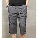 billige Bukser til gutter-Herre Militær Lastebukser Bukser Ensfarget