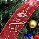 billige Hår Smykker-Feriedekorasjoner Julepynt Julepynt Fest / Dekorativ Rød 1pc