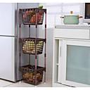 billige Kjøkkenrengjøringsmidler-Kjøkkenorganisasjon Oppbevaringskasser PP (Polypropen) Lagring 1pc