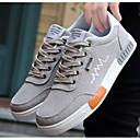 hesapli Erkek Sneakerları-Erkek Ayakkabı Kanvas Bahar Spor Ayakkabısı Günlük için Gri / Siyah ve Altın / Siyah ve Beyaz