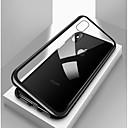 Χαμηλού Κόστους Θήκες iPhone-tok Για Apple iPhone X / iPhone 8 / iPhone 8 Plus Ανθεκτική σε πτώσεις / Διαφανής / Μαγνητική Πλήρης Θήκη Μονόχρωμο Σκληρή Ψημένο γυαλί / Μεταλλικό για iPhone X / iPhone 8 Plus / iPhone 8