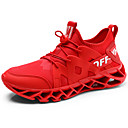 abordables Zapatillas de Hombre-Hombre Zapatos Confort Tela Elástica Otoño Deportivo / Casual Zapatillas de Atletismo Running Antideslizante Blanco / Negro / Rojo