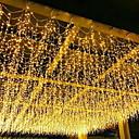 billige LED-kædelys-4m Lysslynger 96 lysdioder Varm hvid Dekorativ 220-240 V 1set