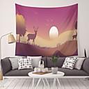 levne Nástěnné tapiserie-Obdélníkový Wall Decor 100% polyester Moderní Wall Art, Nástěnné tapiserie Dekorace