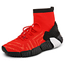 cheap Rings-Men's Comfort Shoes Knit Fall Sporty / Casual Athletic Shoes Running Shoes Keep Warm Black / Gray / Red
