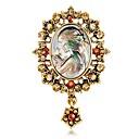 povoljno Moderni broševi-Žene Broševi Klasičan Kreativan Crtići Europska Moda Broš Jewelry Zlato Pink Za Vjenčanje Dnevno