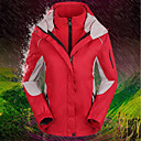 voordelige Softshell, fleece & wandeljacks-Dames Ski-jack waterdicht Houd Warm Winddicht Skiën Kamperen&Wandelen Snowboarden Flanel Winter Fleece jacks / Fleecetruien Skikleding